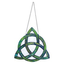 Trinity Knot Stained Glass