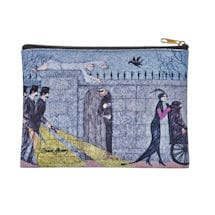 Edward Gorey Zipper Pouches - Mystery