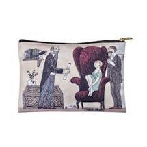 Edward Gorey Zipper Pouches - Parlour