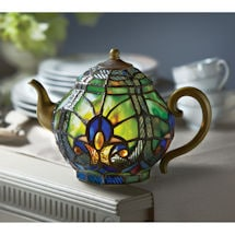 Cordless Teapot Accent Lamp