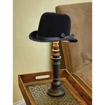 Bowler Hat Lampshade and Base