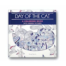 Day of the Cat: A Coloring Book with Hidden Pictures