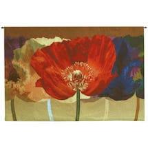 Poppy Tango Tapestry