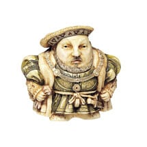 Historical British Caricature Boxes - Henry VIII