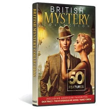 British Mystery Collection: 50 Features DVD