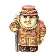 Historical British Caricature Boxes - Beefeater
