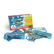 Paper Planes Kits - 6 Fighter Planes