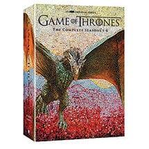 Game of Thrones: The Complete Seasons 1-6 DVD