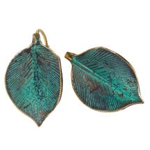 Sculptural Leaves Earrings
