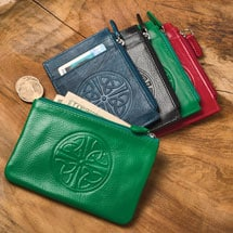 Celtic Leather ID Wallet