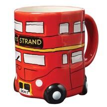 Double-Decker Bus Ceramic Mug