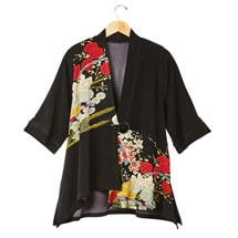 Asian Poppies Jacket