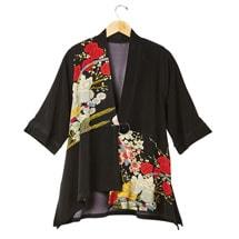Asian Poppies Jacket