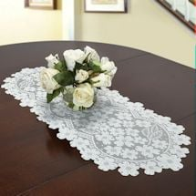 Dogwood Lace Table Topper