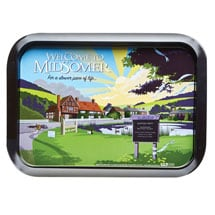 Midsomer Murders Tea Tray