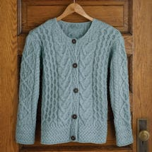 Women's Aileen Aran Button Down Cardigan