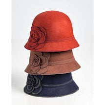 Wool Fun Flower Cloche