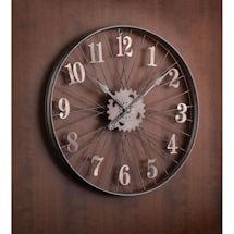 Bike Rim Wall Clock