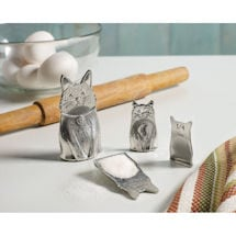 Pewter Cat Family Measuring Spoons
