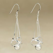 Sterling Silver Joy Earrings