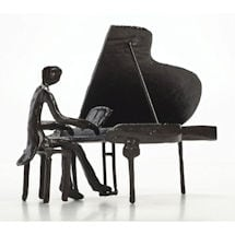Pianist Sculpture