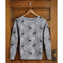 Deer in Snow Sweatshirt