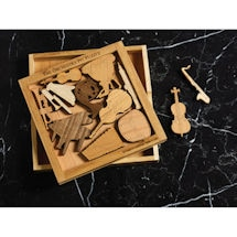 Wood Orchestra Pit Puzzle