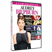 Audrey Hepburn 5 Film Collection DVD