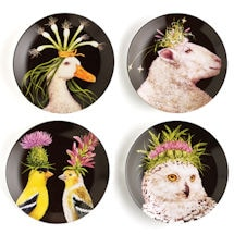 Wild & Wooly Plates Set