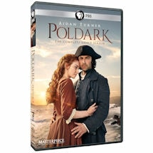Poldark: Season 3 DVD & Blu-ray