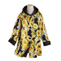 Reversible Sunflowers Swing Jacket