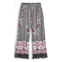 Paisley Lounge Cropped Pants