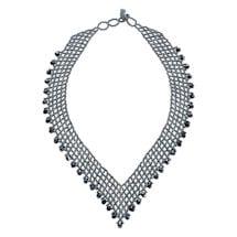 Beaded V-Necklace