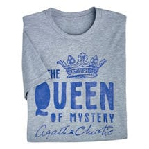 Agatha Christie Tees: Queen of Mystery
