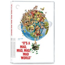 It's a Mad, Mad, Mad, Mad World DVD & Blu-ray