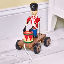 Drumming British Soldier Pull Toy