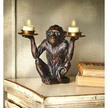 Monkey Tea Light Holder
