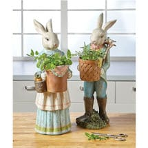 Mrs. Rabbit Garden Sculptures