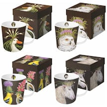 Wild & Wooly Mugs - Set of 4