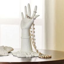 Lady's Hand Jewelry Holder