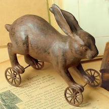 Primitive Rabbit and Sheep Pull Toys: Rabbit
