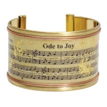 Ode to Joy Cuff Bracelet