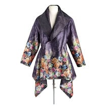 Reversible Midnight Roses Jacket