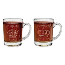 It's Good to Be Queen and King Mugs