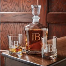 Personalized Whiskey Set
