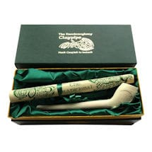 Authentic Celtic Clay Pipe - Made in Ireland, Gift Boxed