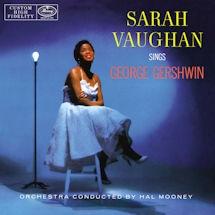 Sarah Vaughan Sings George Gershwin Vinyl LP