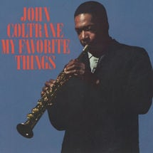 John Coltrane: My Favorite Things LP Vinyl Record