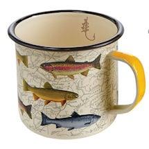 Game Fish Enamelware Mugs