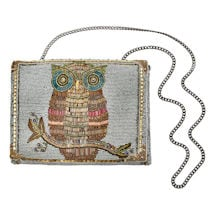 Mary Frances Owl Bag